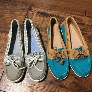 2 Pairs Sperry Top Slider Women's Size 9.5